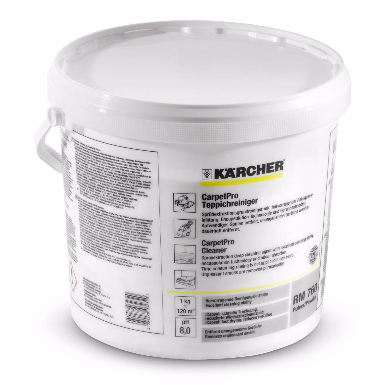 CarpetPro Cleaner RM 760 Powder, 10 kg